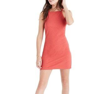 Madewell Oceanside Tank Dress Orange Sz Medium